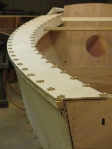 Gluing down side-decks