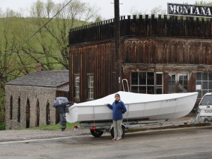 The PT Skiff in Virginia City Montana
