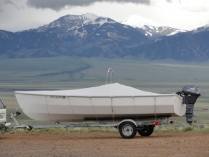 The PT Skiff in Montana