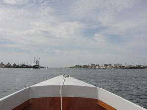Headed for Block Island from Point Judith, RI