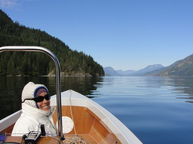 beautiful day in Desolation Sound