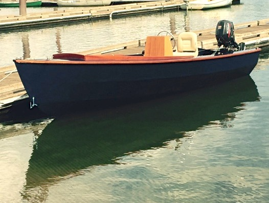 PT Watercraft customer built PT Skiff