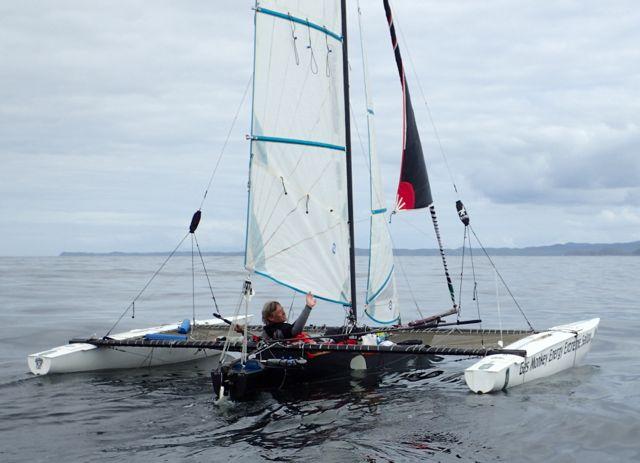 russell tall catamaran