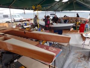 Edensaw Woods boat building challenge